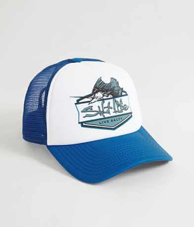 Salt Life Sailfish Badge Trucker Hat