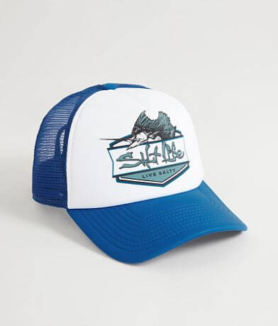 Salt Life Sailfish Badge Trucker Hat