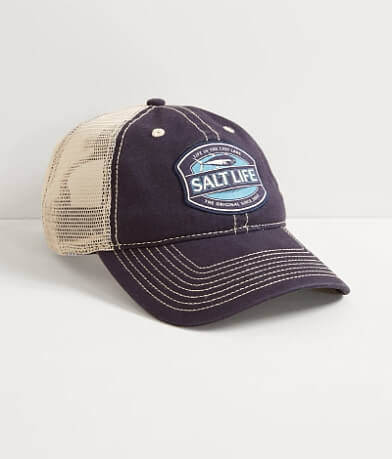 Salt Life In The Cast Lane Trucker Hat