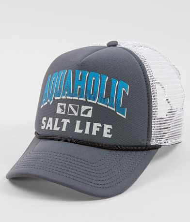 Salt Life Aquaholic Trucker Hat