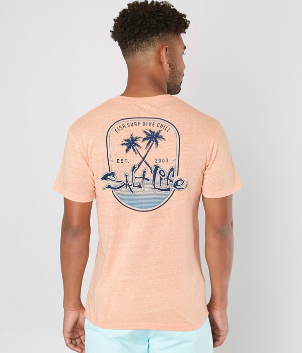 Paradise Found Life Shirt T Salt 1FfTwq5