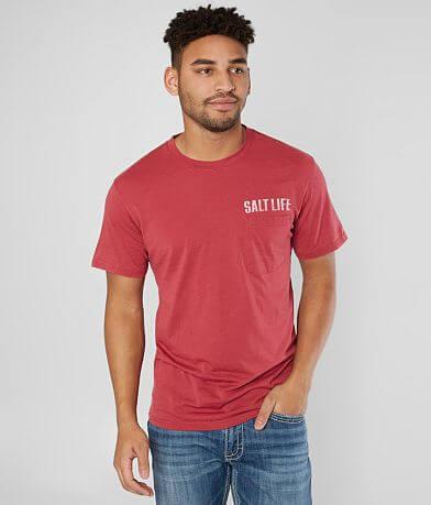 Salt Life Open Seas Burnout T-Shirt