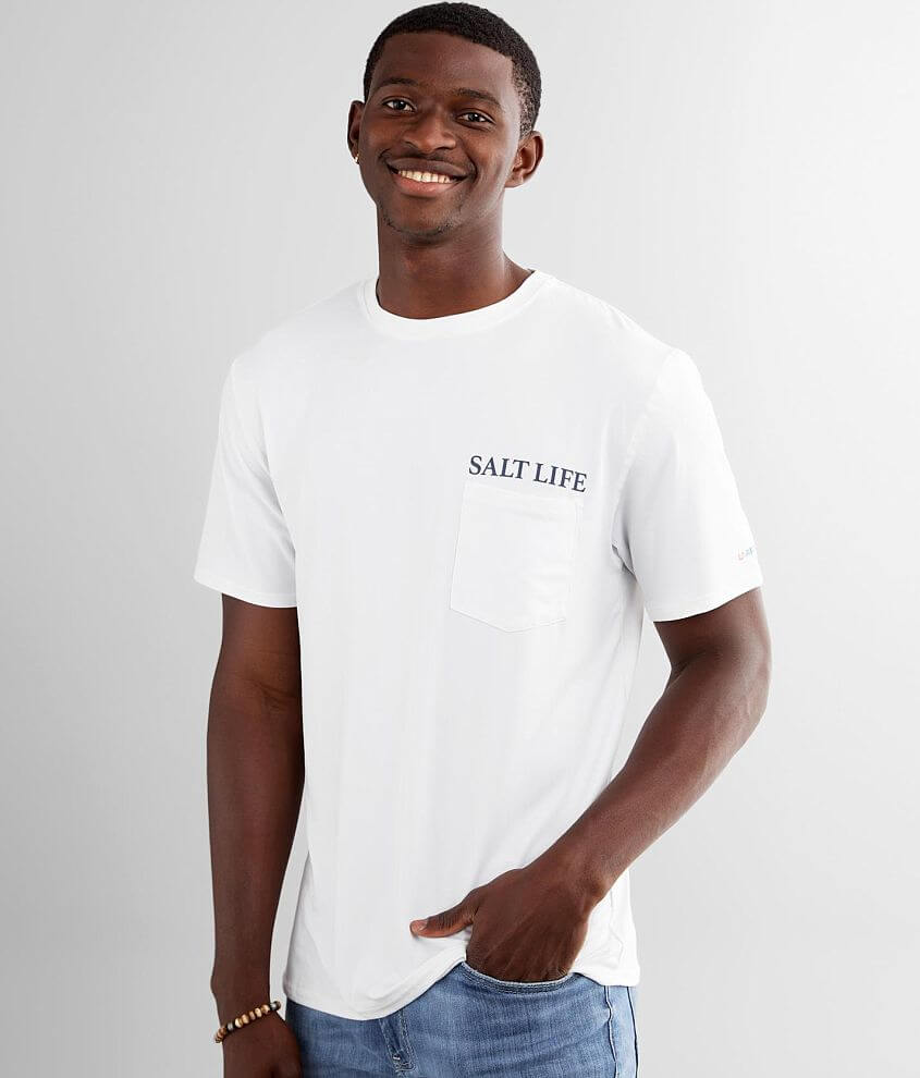 Salt Life Salty Times Ahead T-Shirt front view