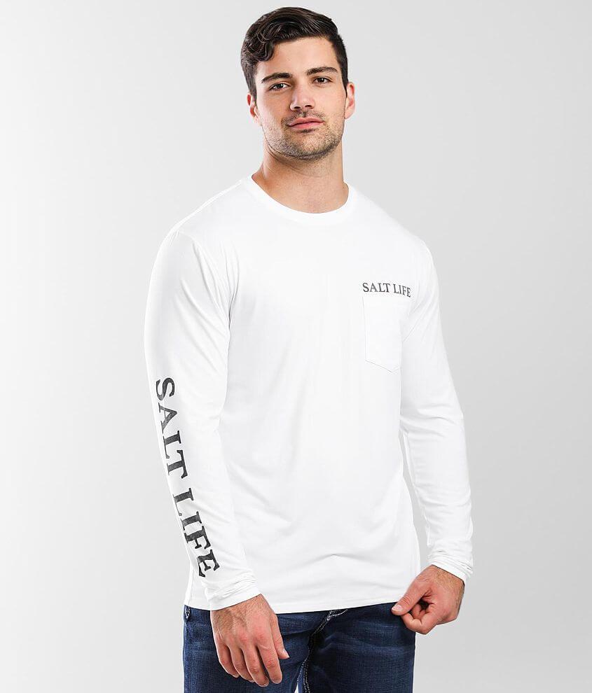 Salt Life Island Performance T-Shirt front view