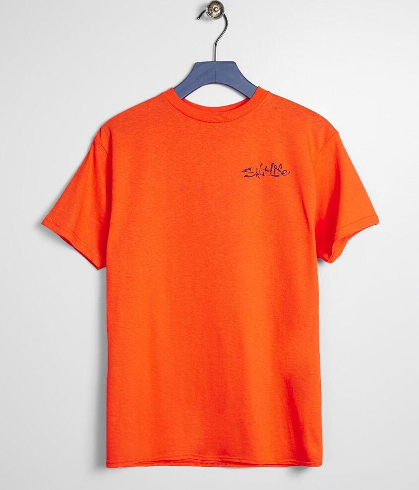 Boys - Salt Life Hidden Agenda T-Shirt front view