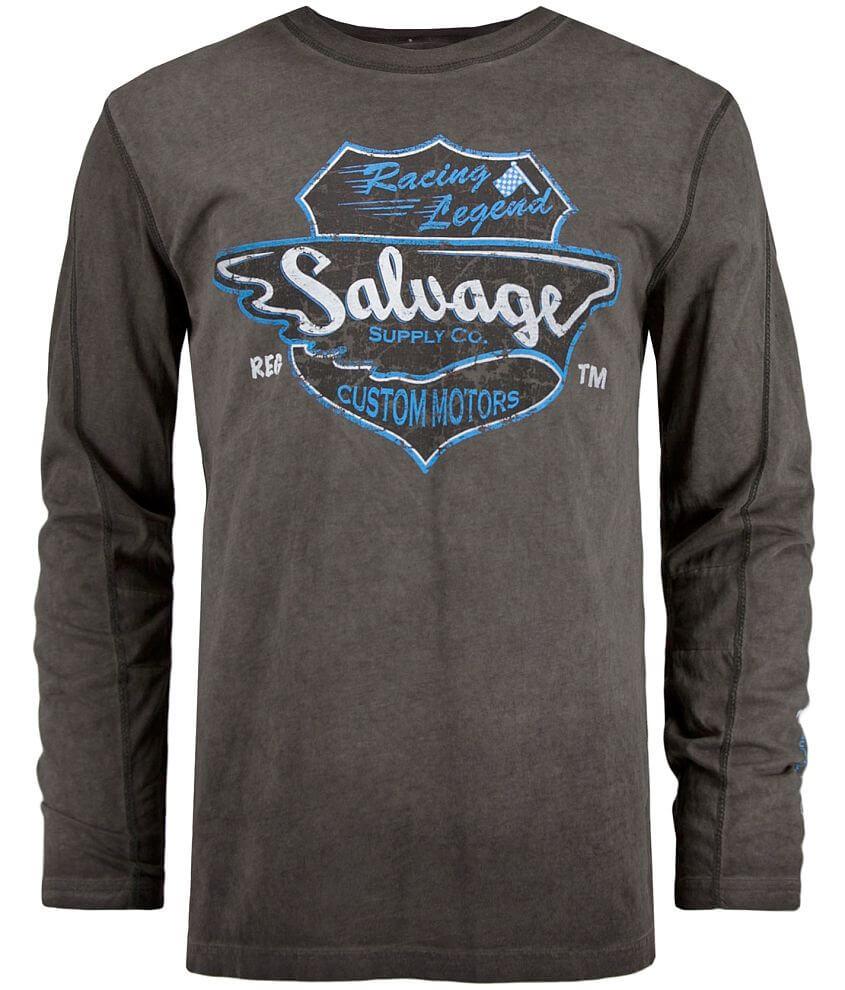 Salvage Custom Motors T-Shirt front view