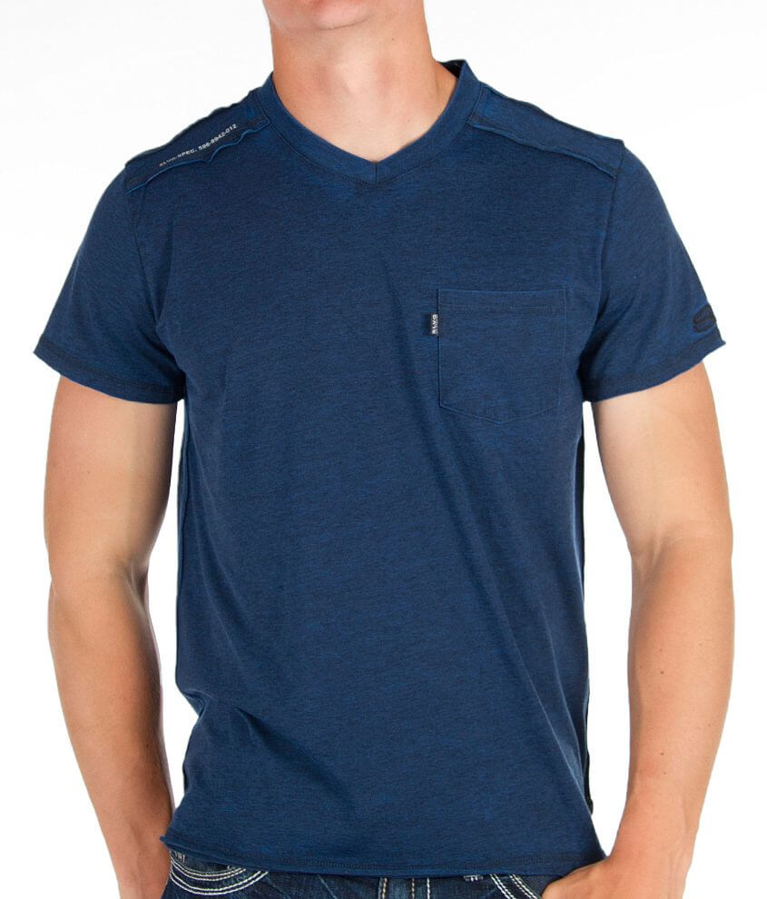 Salvage V-Neck T-Shirt front view