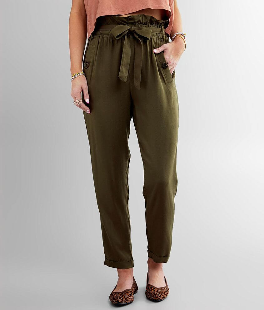 Daytrip Paperbag Cuffed Pant front view
