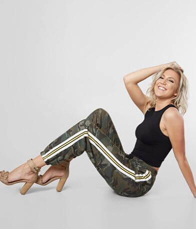 Know One Cares Camo Jogger Pant