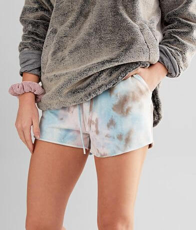 Know One Cares Tie Dye Short