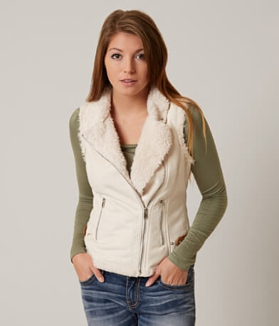CoffeeShop Asymmetrical Vest