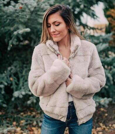 CoffeeShop Faux Fur Jacket
