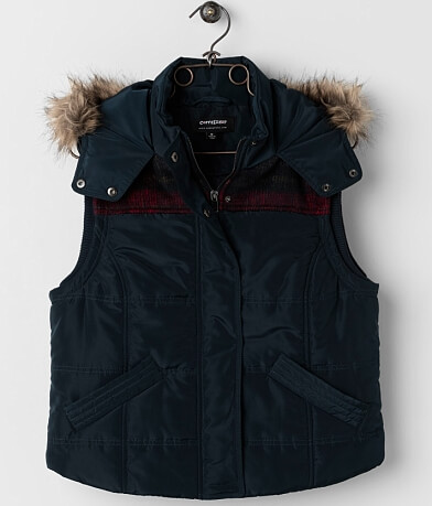 CoffeeShop Puffer Vest