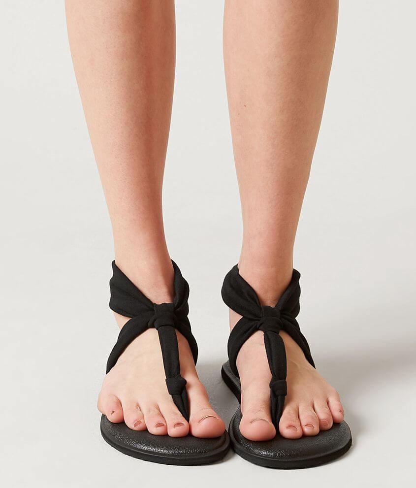 cc6691a43230 Sanuk Yoga Sling Ella Flip - Women s Shoes in Black