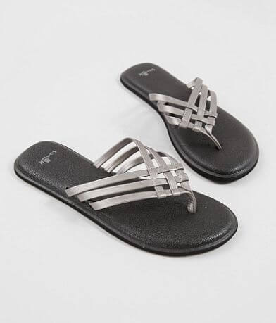 Sanuk Salty Metallic Flip