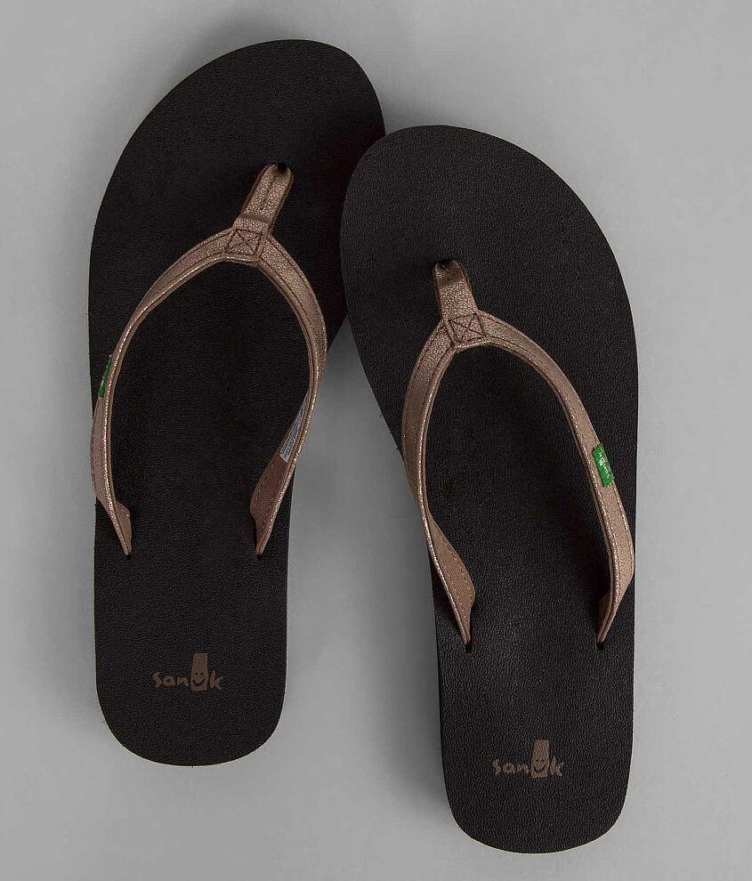 4f0fc5ba095e Sanuk Yoga Joy Flip - Women s Shoes in Rose Gold