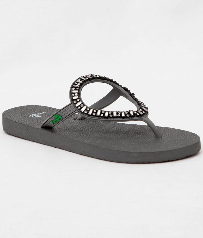 9e51348d52726 Sanuk Ibiza Monaco Flip - Women s Shoes in Charcoal
