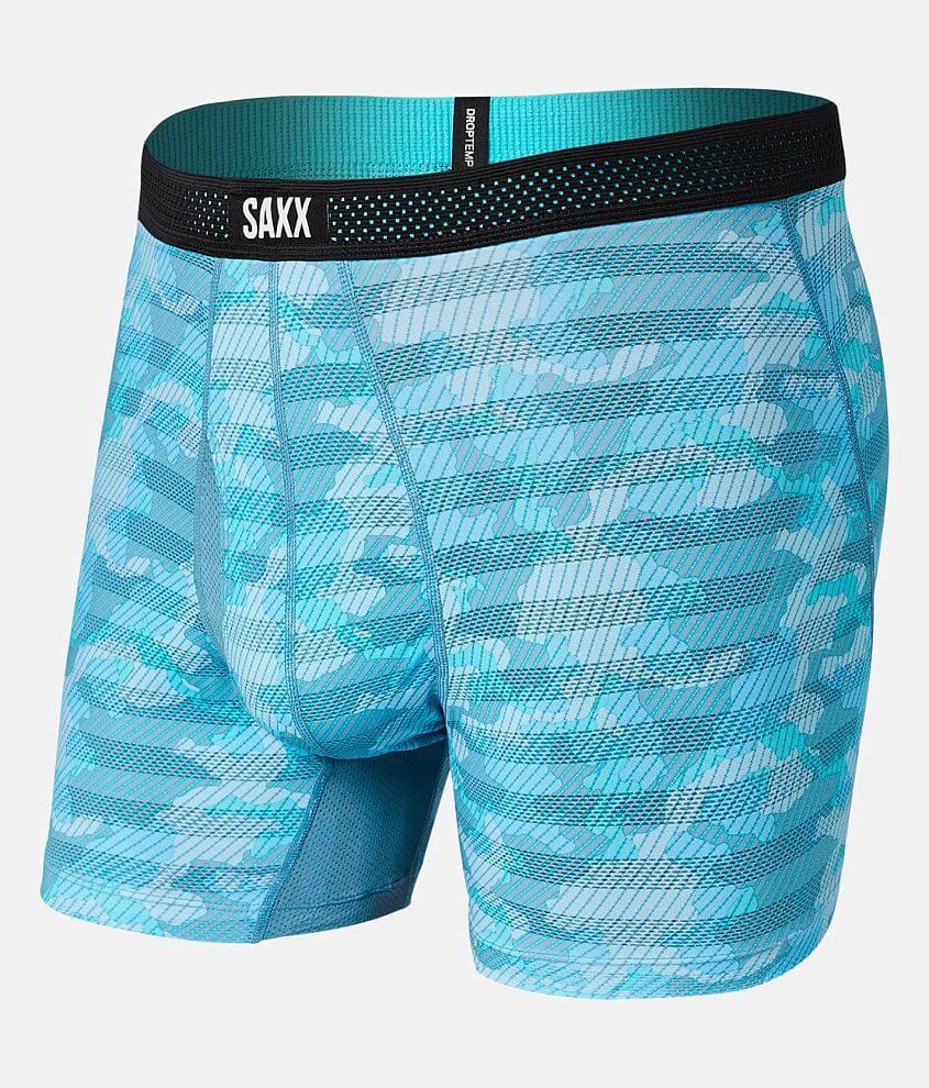 SAXX Hot Shot Stretch Boxer Briefs front view