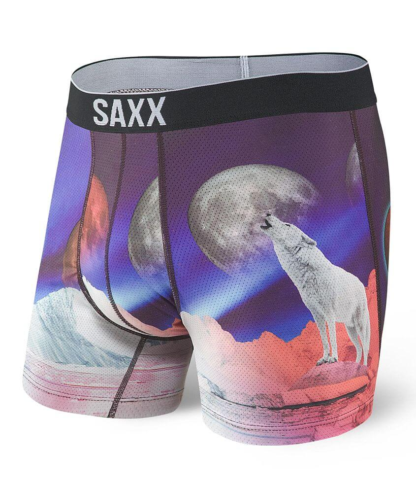 SAXX Volt Stretch Boxer Briefs front view