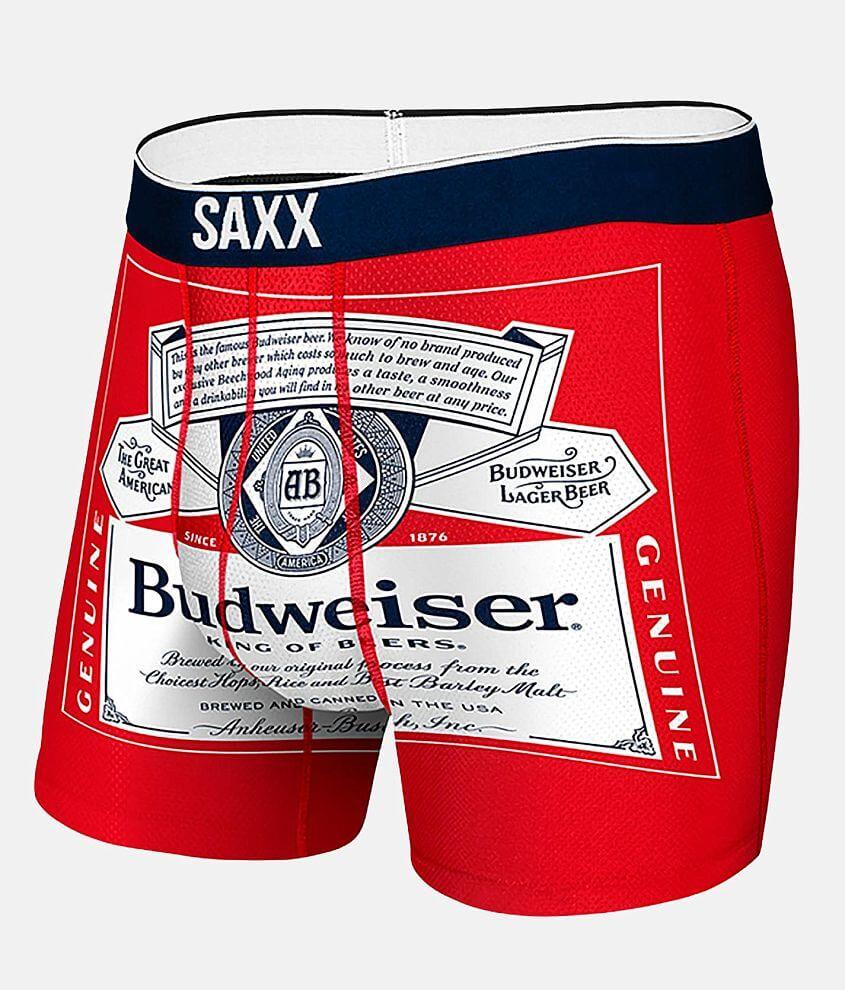 SAXX Volt Budweiser® Stretch Boxer Briefs front view