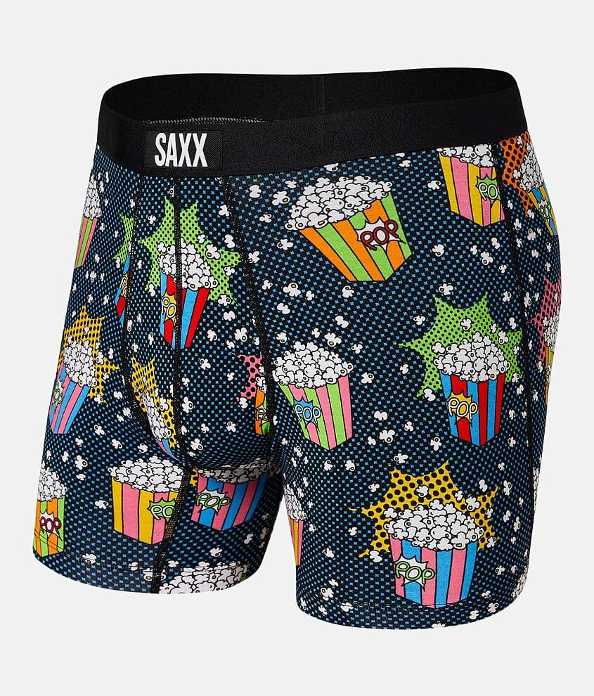 SAXX Vibe Stretch Boxer Briefs front view