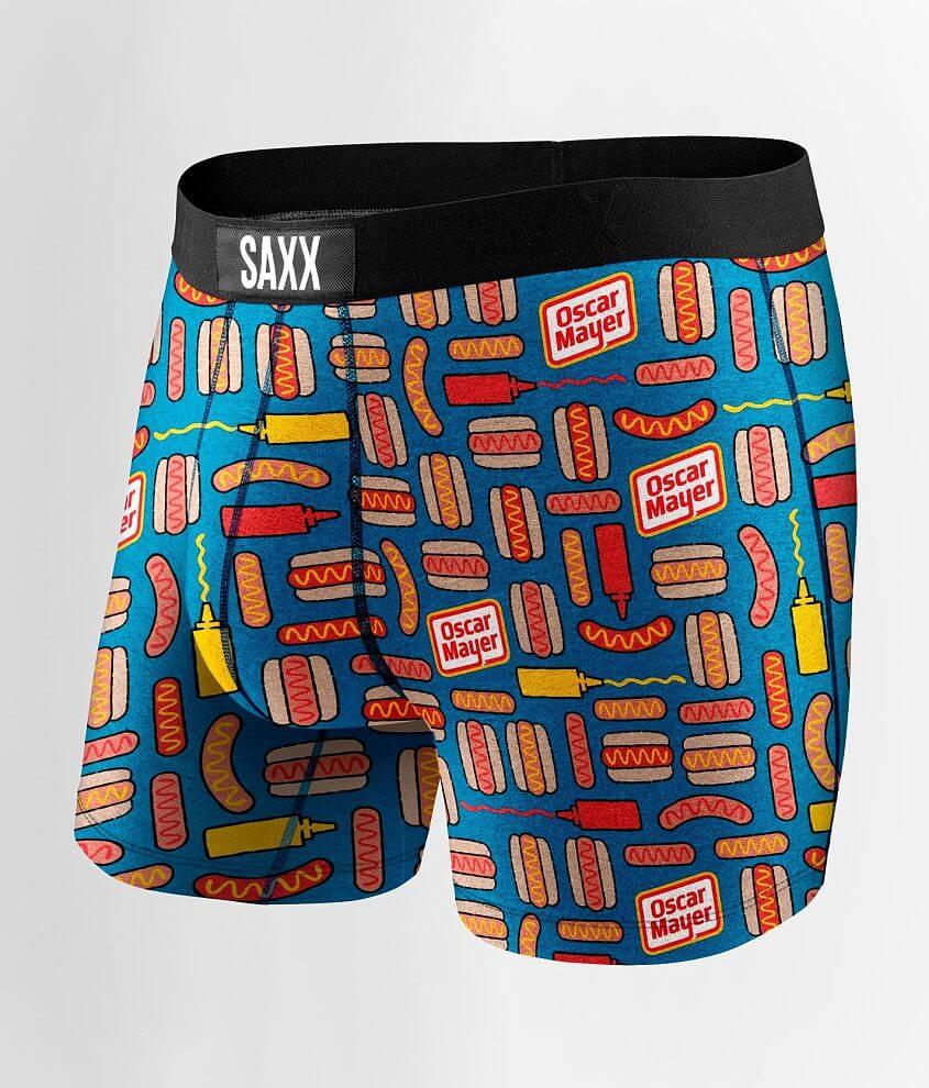 SAXX Oscar Mayer™ Vibe Stretch Boxer Briefs front view