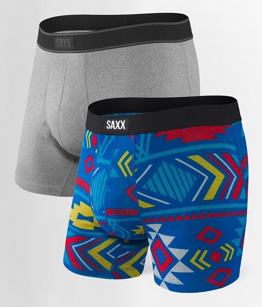 SAXX Daytripper 2 Pack Stretch Boxer Briefs front view