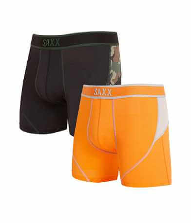 SAXX 2 Pack Kinetic Stretch Boxer Briefs