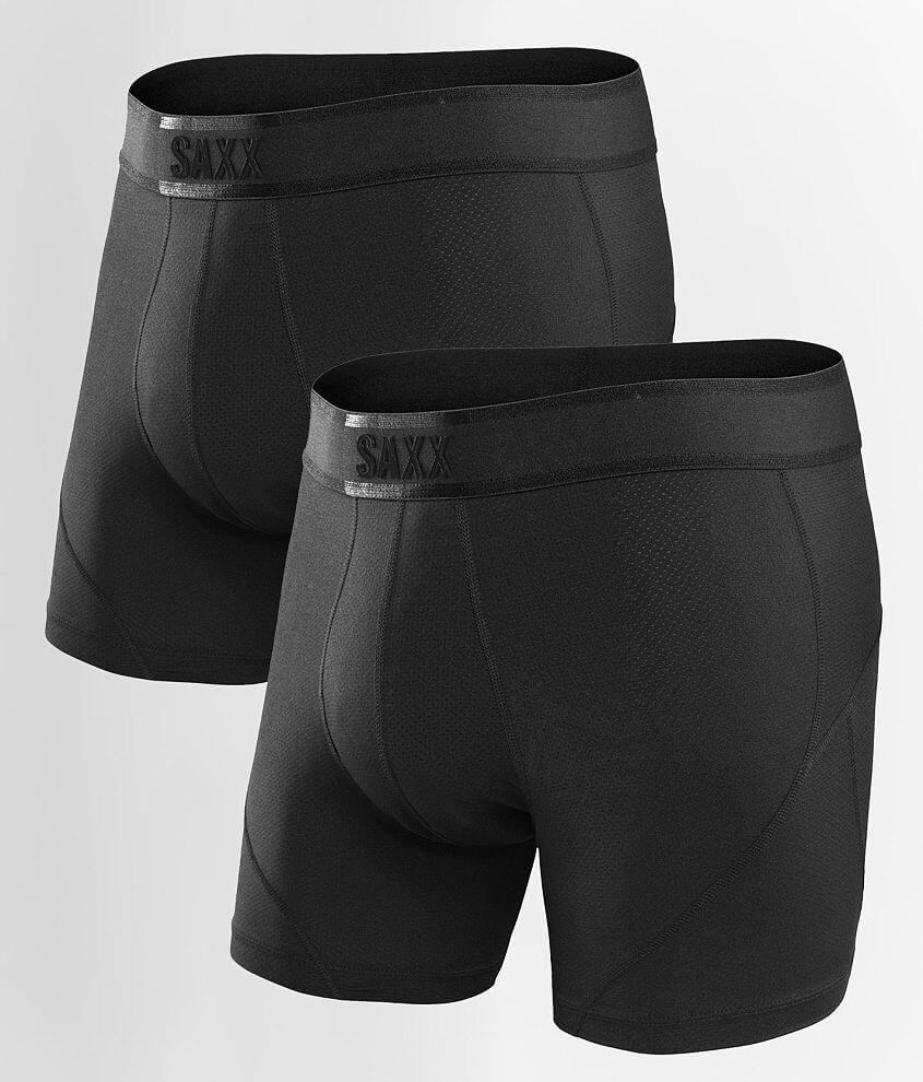 SAXX Kinetic 2 Pack Stretch Boxer Briefs front view