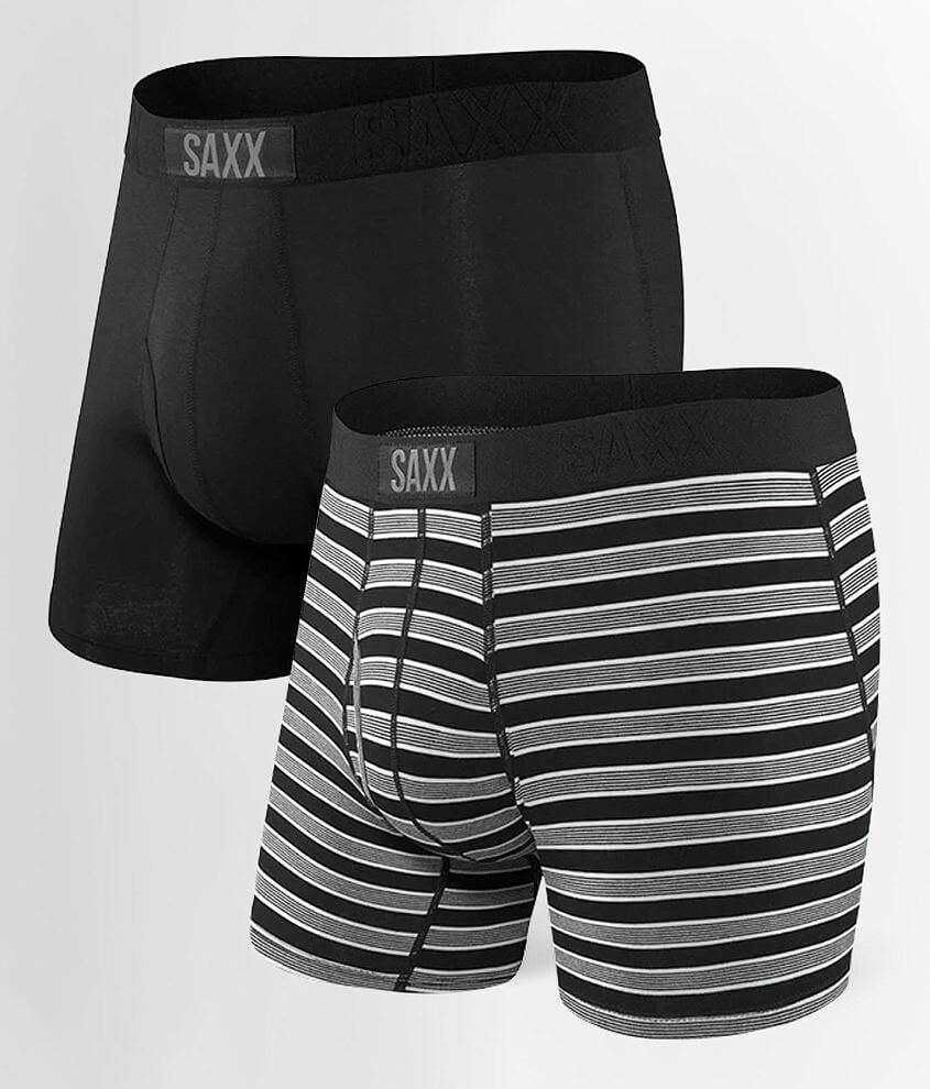 SAXX Ultra 2 Pack Stretch Boxer Briefs front view