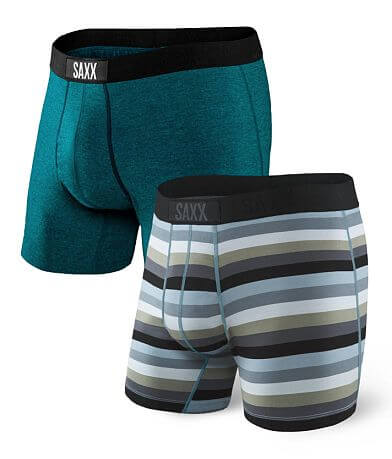SAXX Vibe & Ultra 2 Pack Stretch Boxer Briefs