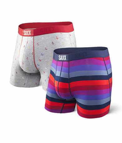 SAXX Vibe 2 Pack Stretch Boxer Briefs