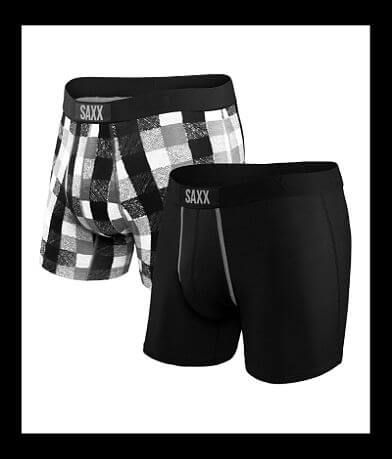 SAXX Vibe 2 Pack Boxer Briefs