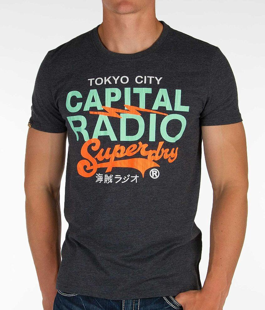 Superdry Capital Radio T-Shirt front view