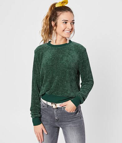 Gypsies & Moondust Chenille Sweater