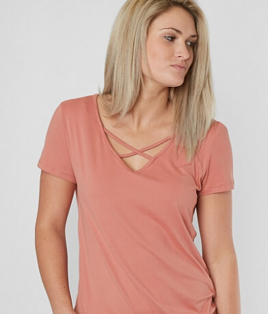 Daytrip Faux Suede Top