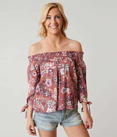 Gypsies & Moondust Off The Shoulder Top