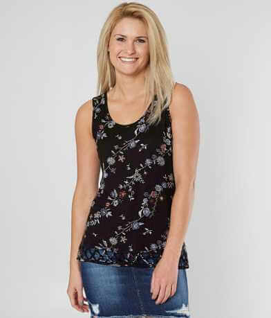 Daytrip Criss Cross Tank Top