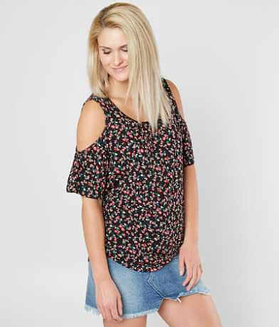 Daytrip Floral Print Top