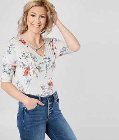 Daytrip Floral Strappy Top