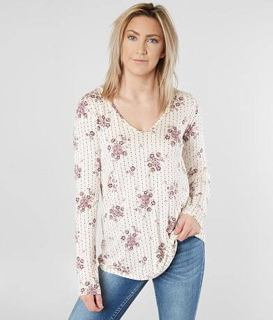 Daytrip Medallion Floral Top