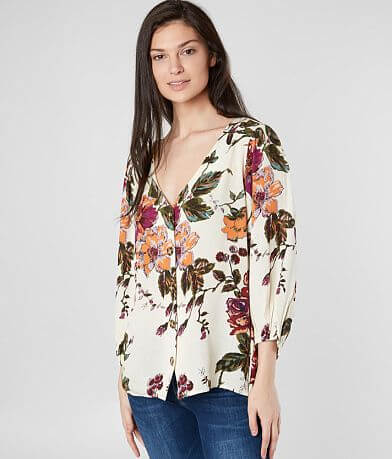 Daytrip Floral Woven Blouse