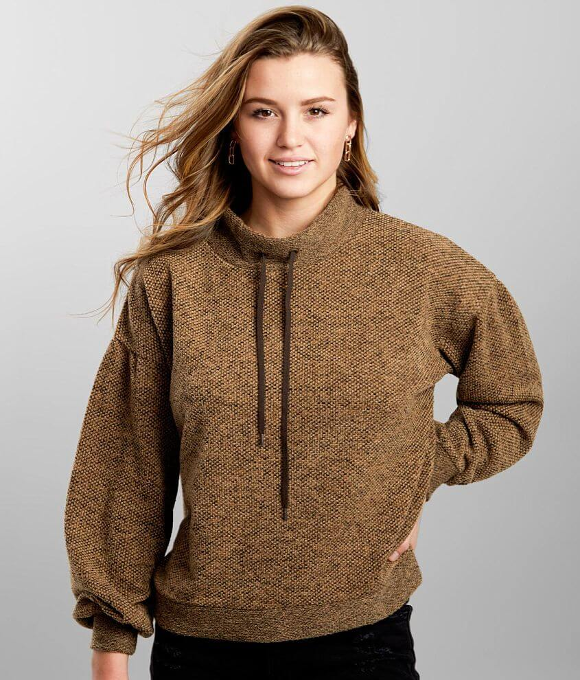 BKE Sweater Knit Pullover front view