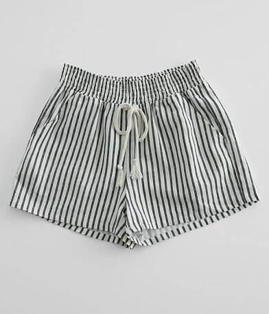 Bebop Woven Striped Short
