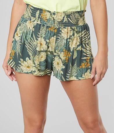 BeBop Floral Crinkle Short