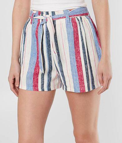 BeBop Striped Woven Short
