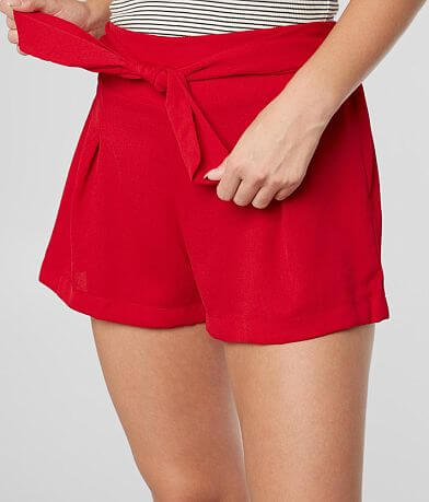 BeBop Textured Gauze Fashion Short
