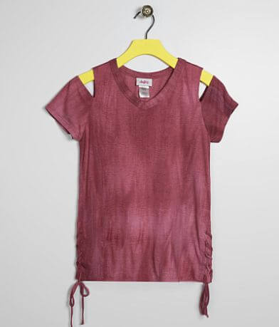 Girls - Daytrip Washed Cold Shoulder Top