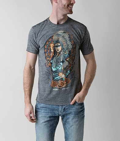 Secret Artist Indian Headdress T-Shirt