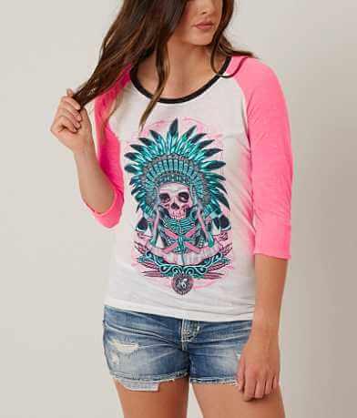 Secret Artist Skull Apache T-Shirt
